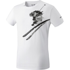 Dynafit Graphic Cotton SS Tee Herre white/cliff